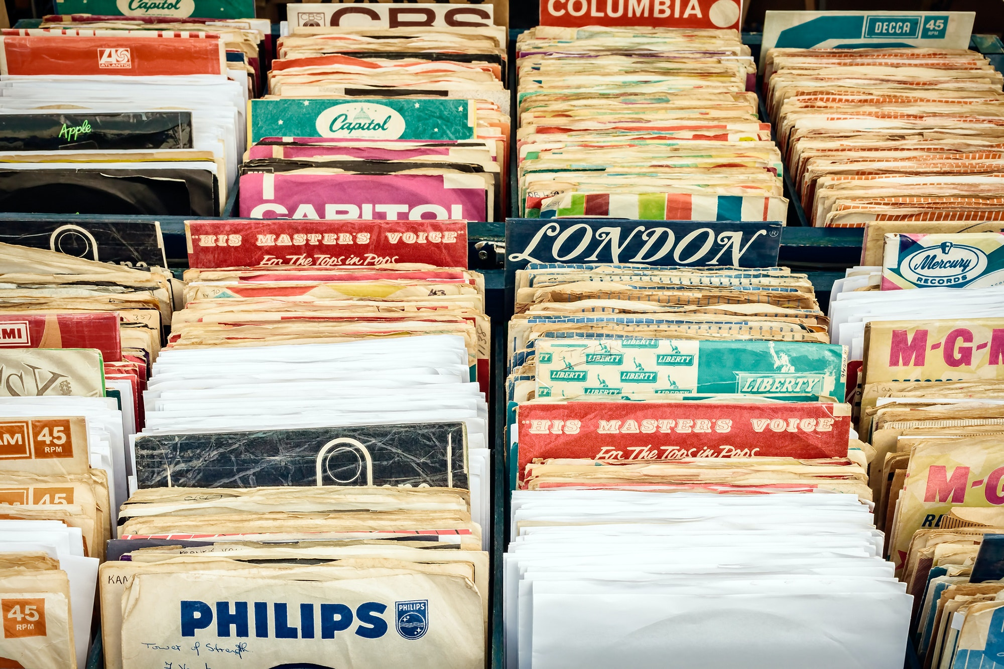 A gaggle of records