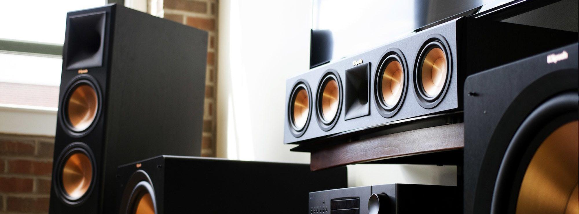 Klipsch surround sound speakers