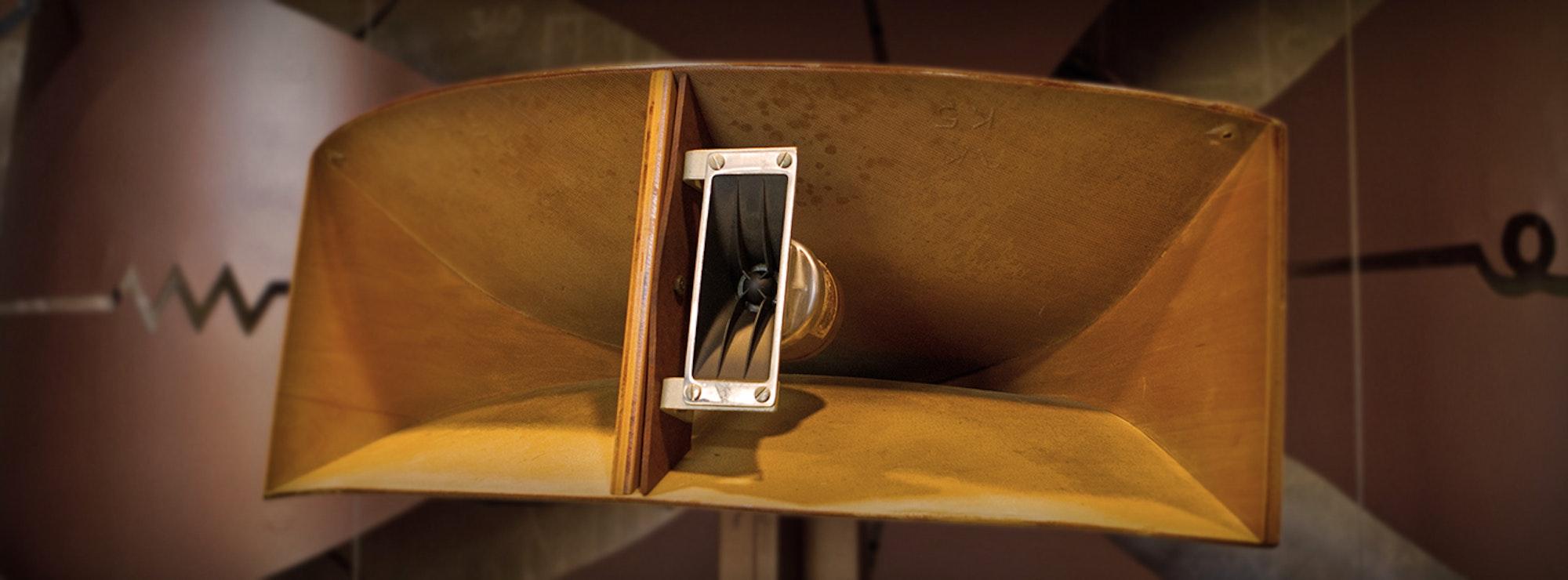 Klipsch speaker pavillon