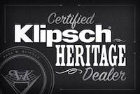 Certified Klipsch Heritage Dealer