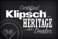 Certified Klipsch Heritage Dealer