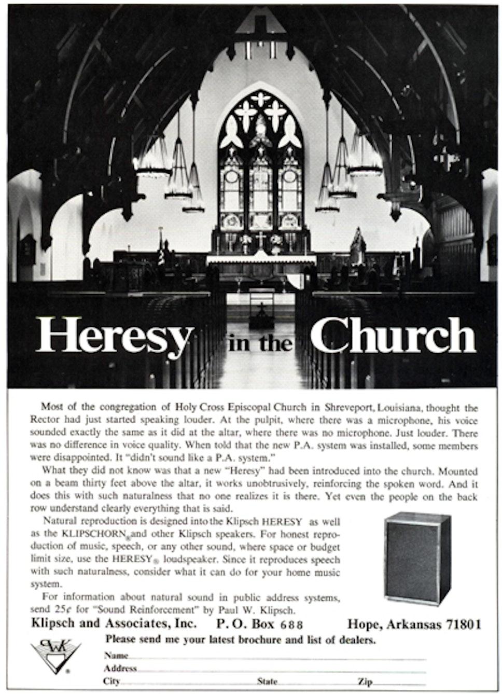 Heresyin Church Ad
