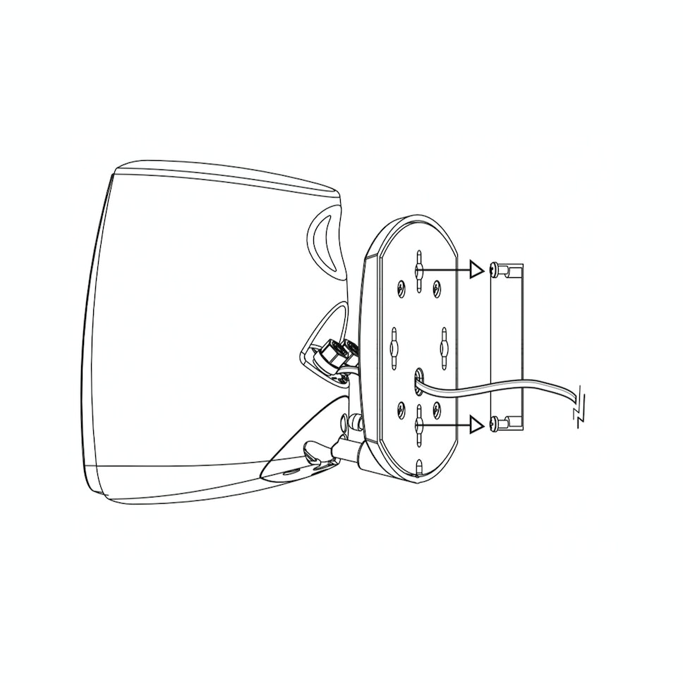 Quintet installation drawing home theater