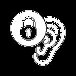 T5 Line Ear Wings Icon