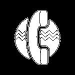 T5 Linie Vibrierender Halsbügel Symbol