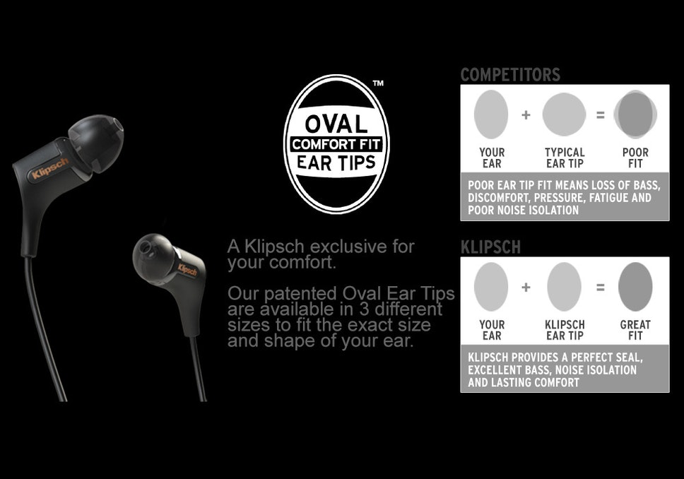 Klipsch ear tip comparison