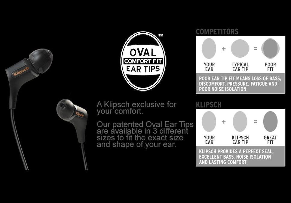 Klipsch ear tip comparison