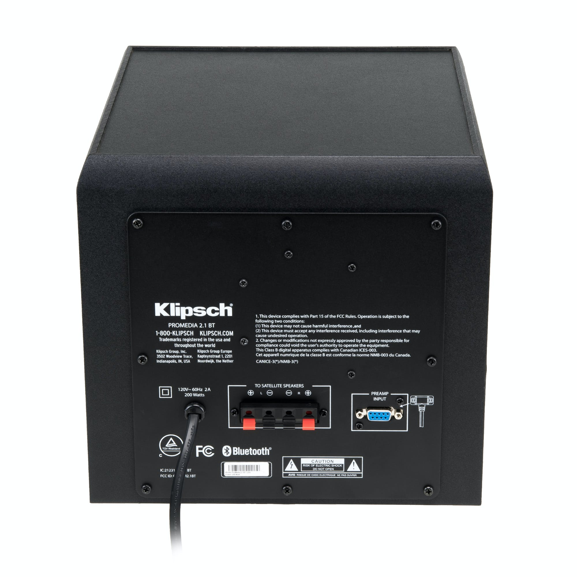 ProMedia 100.10 Bluetooth Computer Speakers  Klipsch