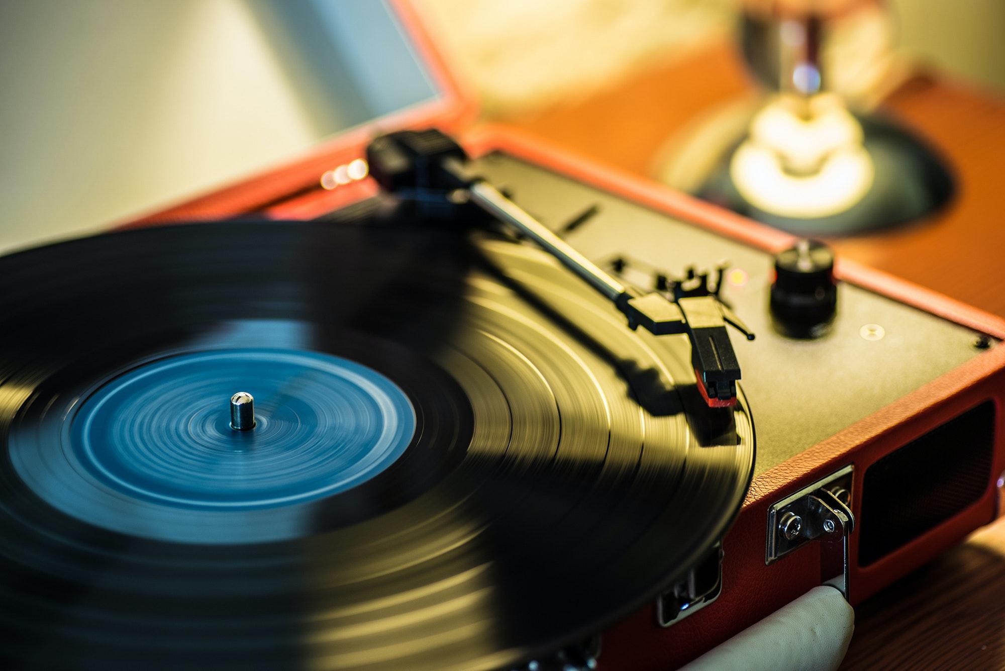 Recordplayerandrecord